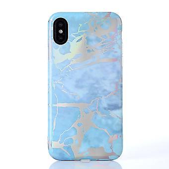 Marbre métallique - iPhone X / XS