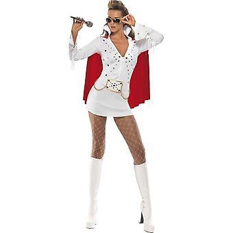 Elvis Viva Las Vegas Costume, UK Dress 8-10