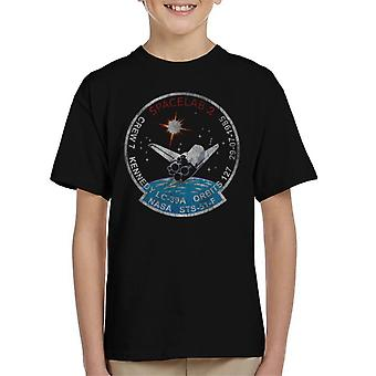 NASA STS 51 F Challenger Mission Badge Distressed Kid's T-Shirt