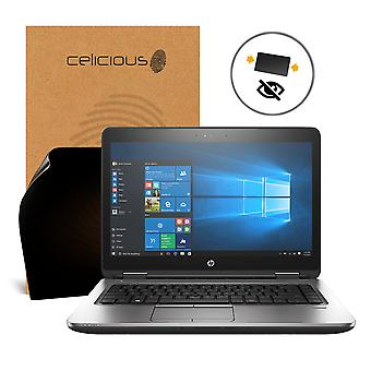 Celicious Privacy 2-Way Anti-Spy Filter Screen Protector Film Compatible with HP ProBook 640 G2 (Touch)
