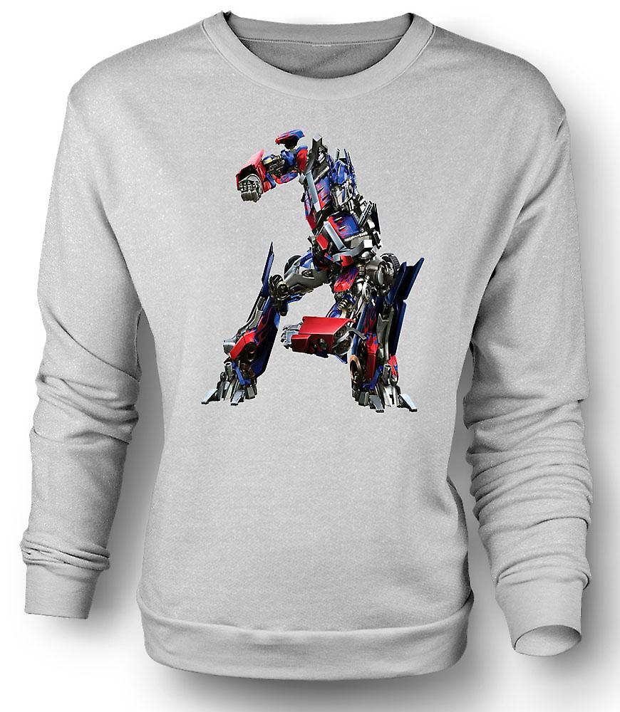 Mens Sweatshirt Optimus Prime - transformatorer