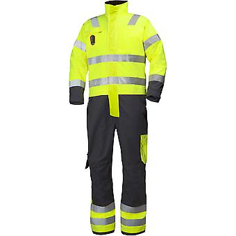 Helly Hansen Mens Aberdeen Suit Hi Vis Workwear Bib Dungaree Coveralls