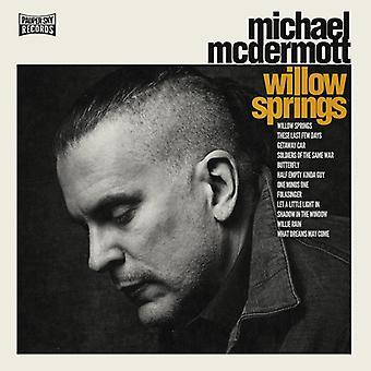 Michael McDermott - Willow Springs [CD] USA import