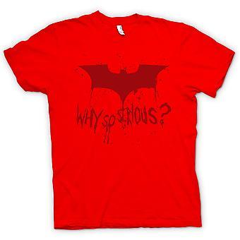 Womens T-shirt - Batman Logo - Why So Serious