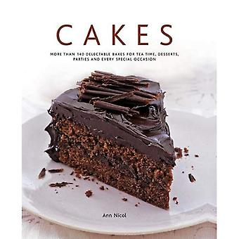 Tårtor: mer än 140 ljuvlig bakar för te gången, desserter, fester och varje speciellt tillfälle