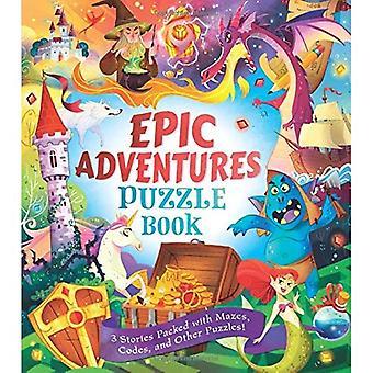 Epic Adventures Puzzle Book