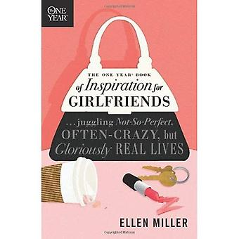 The One Year Book of Inspiration for Girlfriends (One Year Books)