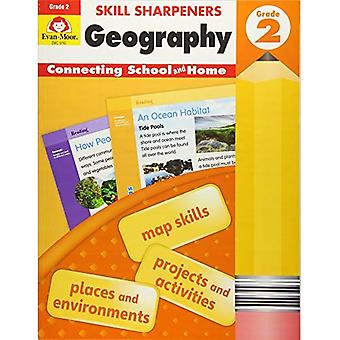 Skill Sharpeners Geography, Grade 2 (Skill Sharpeners Geography)
