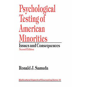 Testes psicológicos das minorias americanas questões e consequências por Saturnino & Ronald J.