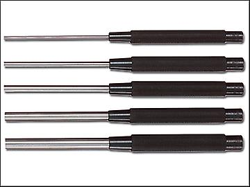 Starrett S248PC Long Pin Punch Set 5 Piece
