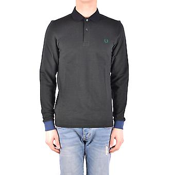 Fred Perry Green Cotton Polo Shirt