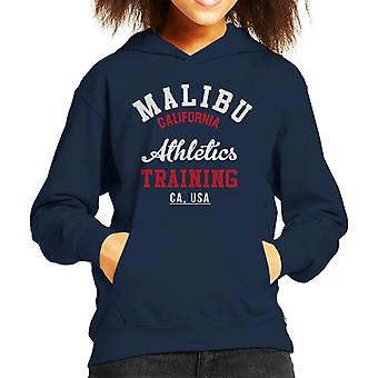 Malibu Athletics Training Kid's Hooded Sweatshirt