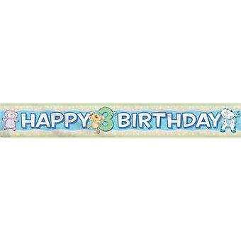 Folie Banner - Babys 3. Geburtstag
