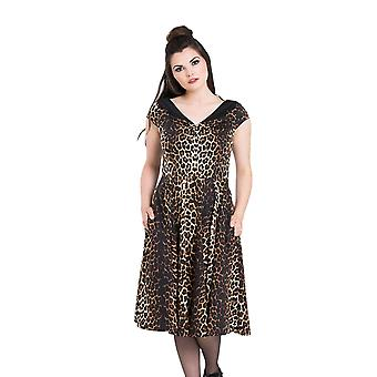 Hell Bunny Panthera années 50 robe S