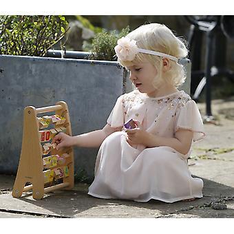 Klassieke wereld - alfabet Abacus alfabet & leren/nummerherkenning, elementaire spelling, tellen & vroege woord vergadering