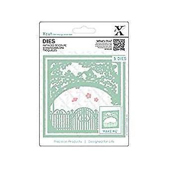 Xcut Dies In The Garden (5pcs) (XCU 503383)