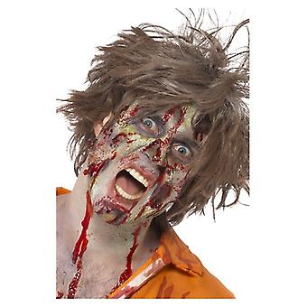 Zombie Latex Kit, natuurlijke, Face Paint, Gel vloeibare Latex, bloed, Horror vlees Fancy Dress accessoire