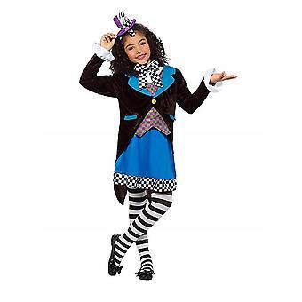 Crazy Carnival Deluxe little Miss Hatter costume Huttmacherin child costume