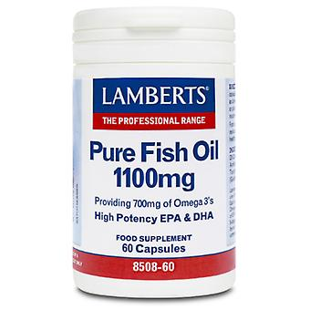 Lamberts Pure Fish Oil 1100 mg (Vitamins & supplements , Omegas & fat acids)