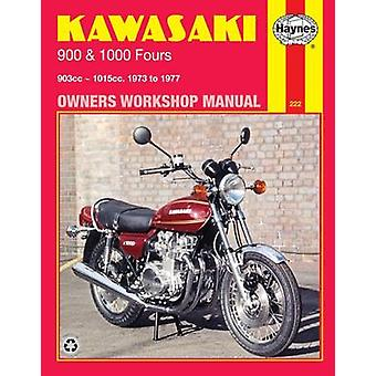 Kawasaki 900 and 1000 1972-77 Owner's Workshop Manual by G. Collett -