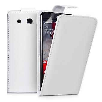 YouSave Accessories LG G Pro Leather Effect Flip Case White
