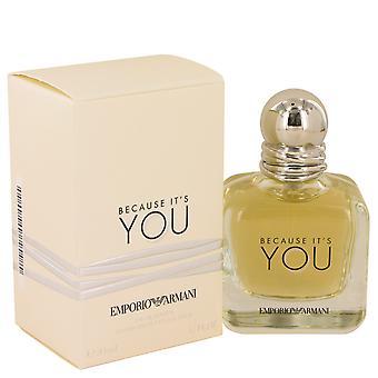 Giorgio Armani eftersom det är du Eau de Parfum 100ml EDP spray