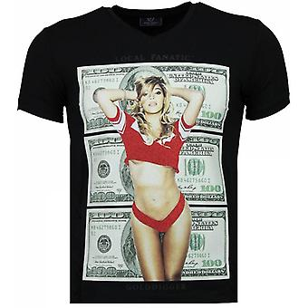 Golddigger Dollar-T-shirt-Black