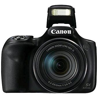 Canon powershot sx540 hs hd cámara digital 60fps 20.3 megapíxeles color negro