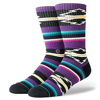 Stance Foundation Mens Socks ~ Odessa purple (size L)