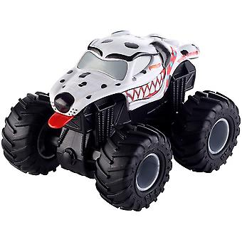 Hot Wheels Monster Jam Rev Tredz Monster Mutt friction toy car 12cm