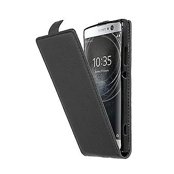Cadorabo Hülle für Sony Xperia XA2 Case Cover - Handyhülle im Flip Design aus strukturiertem Kunstleder - Case Cover Schutzhülle Etui Tasche Book Klapp Style