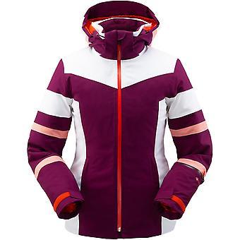 Spyder CAPTIVATE Damen Gore-Tex PrimaLoft Ski Jacke violett