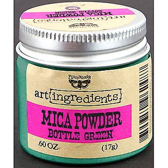 Finnabair Art Ingredients Mica Powder .6oz-Bottle Green AIMP-62852