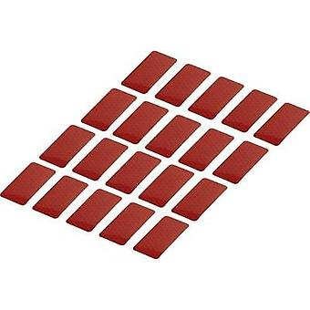 Adhesive strips Conrad Components RTS Red (L x W) 50 mm x 25 mm