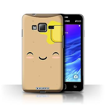 STUFF4 Case/Cover for Samsung Z1/Z130/Toast/Kawaii Food