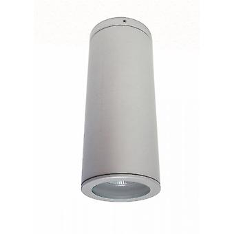 Jaci ceil COB LED 1 x 9 W 3000 K ceiling light IP54 of titanium silver, 10373