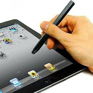 Metal pen stylus 12cm (pencil shape) black for all smartphones with capacitive display