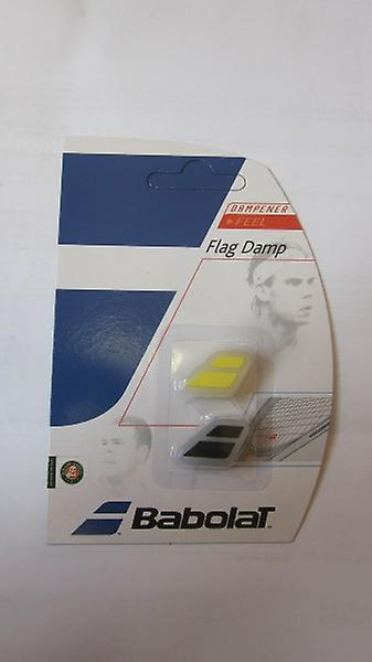 Babolat Flag damper 2-pack Black / Yellow