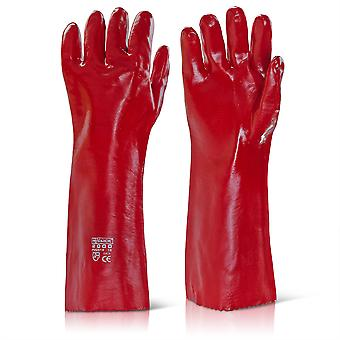 Click 2000 PVCR18 General Handling Glove PVC Coating Wet & Oily Grip 18   - 46cm