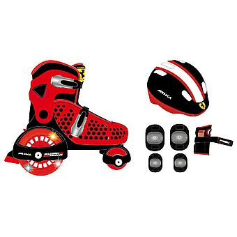 Ferrari In September inline skates with protectors R & B 26-29