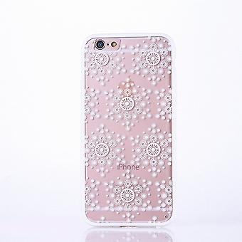 Mobile Shell mandala for Huawei P9 Lite design case cover motif flakes cover bag bumper white