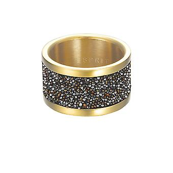 ESPRIT women's ring stainless steel gold Glam ESRG12749B1