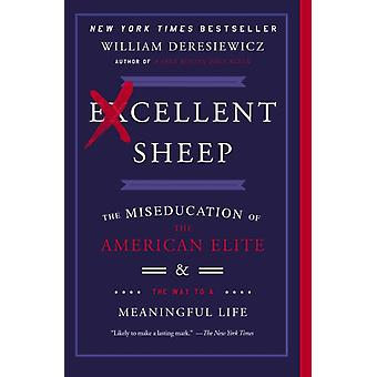 Excellent Sheep: The Miseducation of the American Elite and the Way to a Meaningful Life (Paperback) by Deresiewicz William