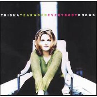 Trisha Yearwood - importación de Estados Unidos todo el mundo sabe [CD]