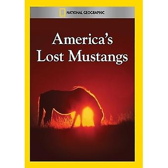 America's Lost Mustangs [DVD] USA import