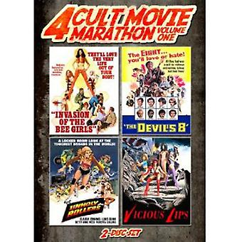 Unholy Rollers/Invasion of the Bee Girls/Devil's E [DVD] USA import