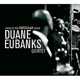 Duane Eubanks - ting at særlige karakter [CD] USA import