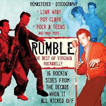 Forskellige kunstnere - Rumble bedste af Virginia Rockabilly [CD] USA importen