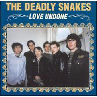 Dødbringende slanger - kærlighed fortrydes [CD] USA importerer