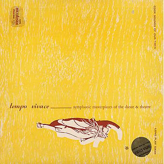 Nye orkestrale Society of Boston - Tempo Vivace: symfonisk mesterværker af & Danseteater [CD] USA importen